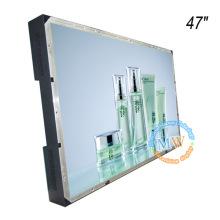 Безрамное открытой рамки 47-дюймовый ЖК-монитор с HDMI VGA и DVI вход