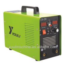 DC inverter mma welder and battery charger machine CD-250