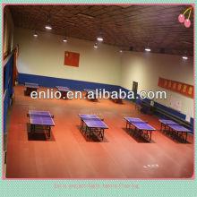 piso de quadra de tênis de mesa em plástico pvc certificado pela ITTF