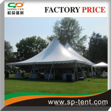 12x18m klassische Pole Zelte Für 150 Personen Abendessen Veranstaltungen