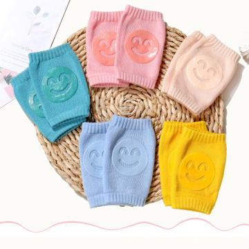 Wholesale Warm Cute Thick Safety Crawling Anti Slip Baby Knee Pads