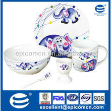 Фарфоровый завтрак для детей BC8099 новый подарок для новорожденных