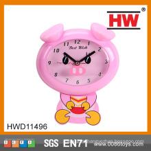 Reloj de cuco plástico animal de dibujos animados