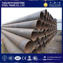tubo de aço redondo, tubo api 5l x80 e tubo soldado sprial