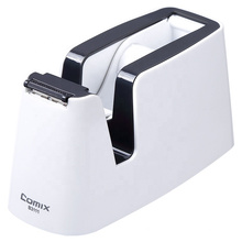 Comix office desk stainless steel blade non-slip base small tape dispenser
