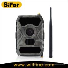 Grand détective domaines imperméable à l'eau à piles APP télécommande 3G mms caméra de sentier