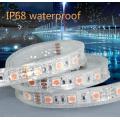 IP67 Silikon SMD5050 / 5630 60LED 10mm Aluminium LED Streifen