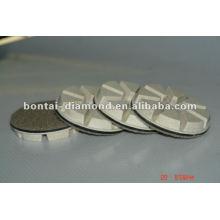Concrete polishing resin pad