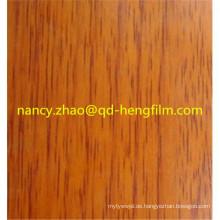 Ausgezeichnete Flachheit PVC Folie für hochgradige Dekoration