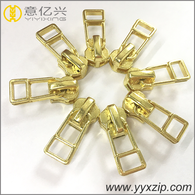 no.5 metal zipper sliders