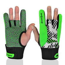 2016 New Style OEM Softtextile Bowling Glove