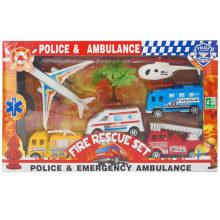 Caixa pacote de emergência tráfego ferramentas brinquedo conjunto