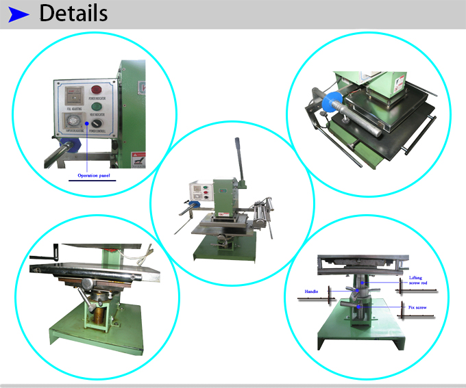 Manual Napkin Gilding Machine