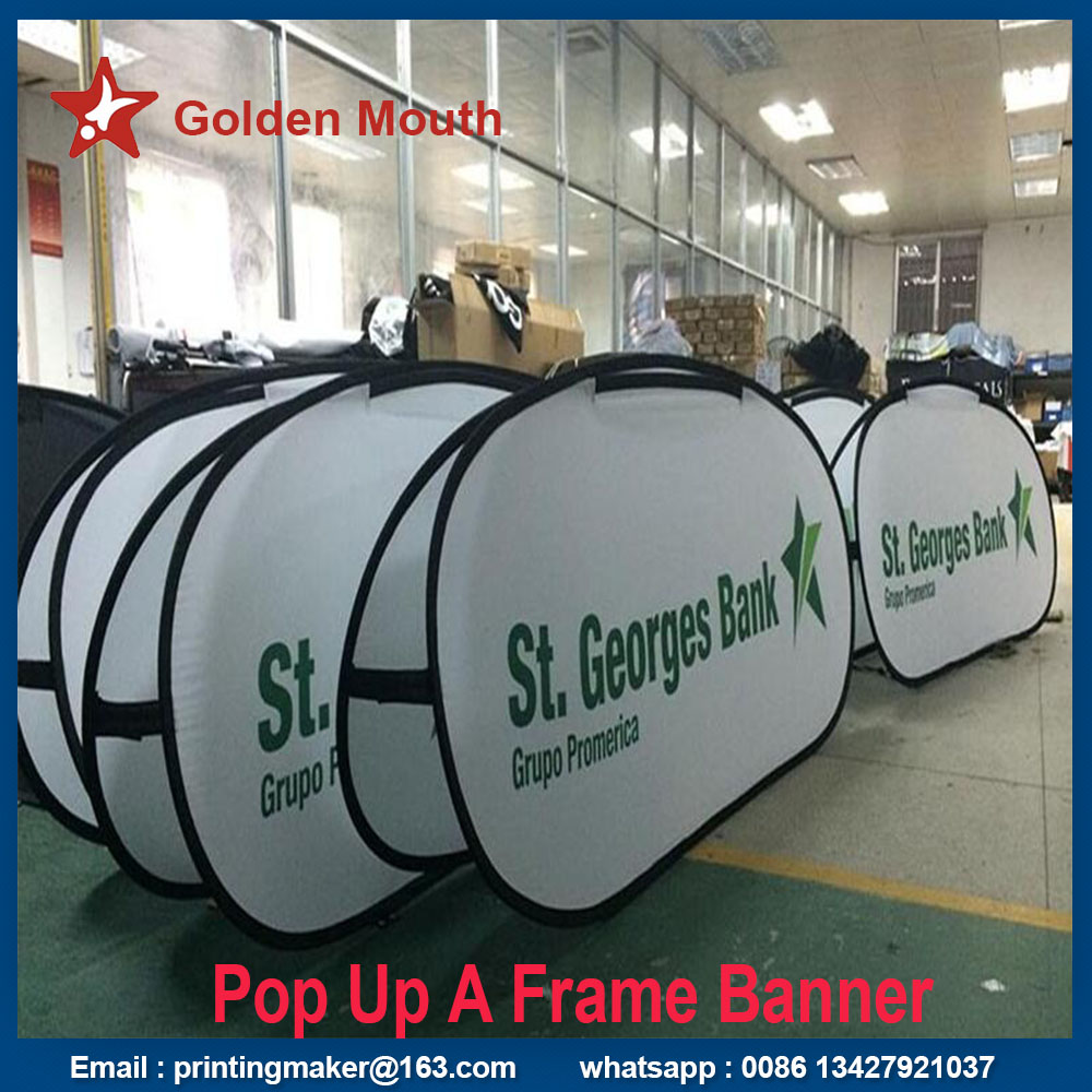 horizontal pop up a frame banner