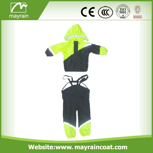 PU Green Rainsuits