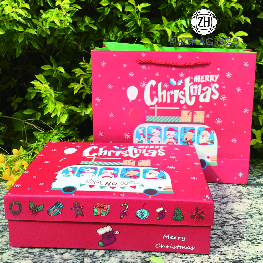 Christmas Gift Two-pieces Box Set Packaging