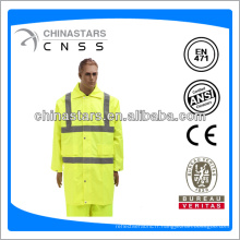 EN471 / ANSI high viz raincoat jaune classique