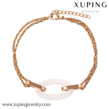 74231-xuping jewellery gold stainless steel bracelets for teenagers
