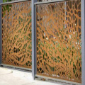 Decorative Metal Privacy Fence