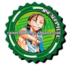 latest customized rubber tea coaster,rubber coffee coaster