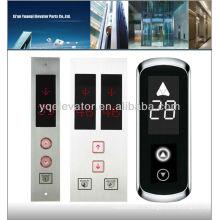 Panneau de bouton d'ascenseur lop, panneau de bouton-poussoir d'ascenseur, panneau d'ascenseur à vendre