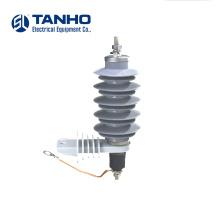 10ka hy10w 15kv High Voltage IEC Equipment Porcelain surge Arresters Solid And Durable  Arrester Lightning Price