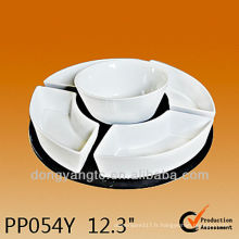 PP054Y ensemble de vaisselle à haute température en céramique, ensemble paresseux de susan