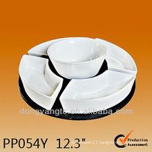 PP054Y High temperature dinnerware set ceramic,susan lazy set