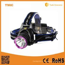 2X 18650 Recarregável CREE Xm-L T6 LED farol (POPPAS-T90C)