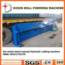 Machine de découpe en métal hydraulique Dx