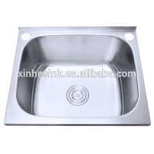 Above counter 304 stainless steel laundry room sinks