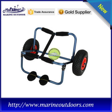 Folding aluminium beach kayak cart for kayak