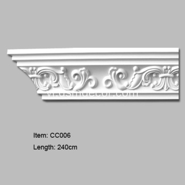 Polyurethane Crown Cornice Moldings