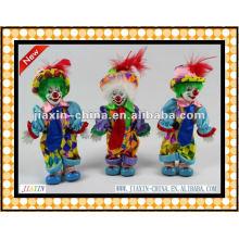 Deko Porzellan Clowns