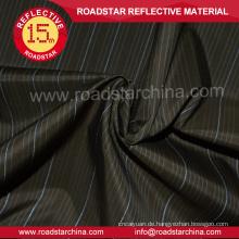 Kleid-Shirt-Stoff 100 % reflektierende Polyestergewebe