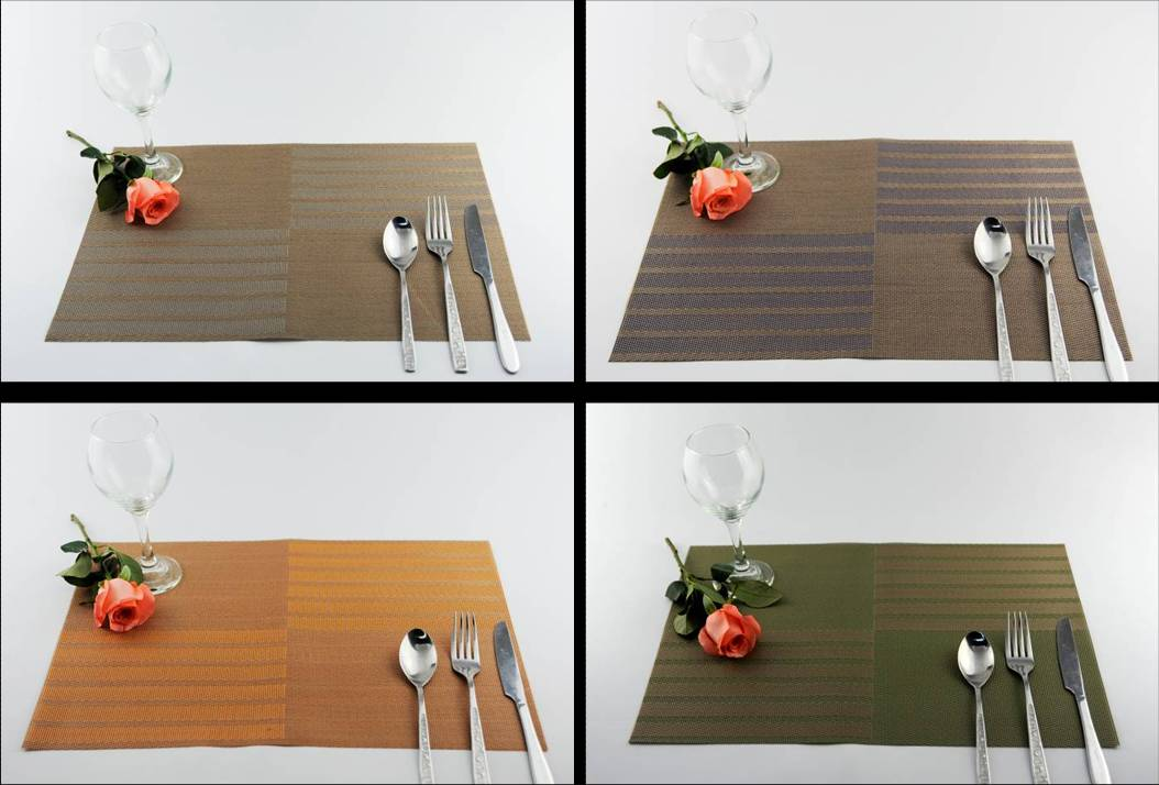SAN tin series PVC table mat decoration cushion