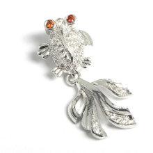 Bijoux Fashion Fashion Goldfish Shape Bijoux Pendentif Accessoire pour Collier Bracelet