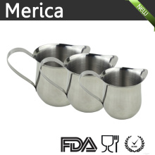 Three Sizes Stainless Steel   Latte Art Milk Frothing Pitcher