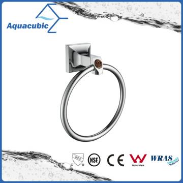 Chromed Wall Mount Brass Towel Ring (AA9013B)