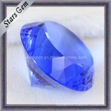 Diamante, forma, azul, shinning, cristal, vidro