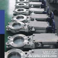 Stainless Steel Manual Wafer Knife Gate Valve