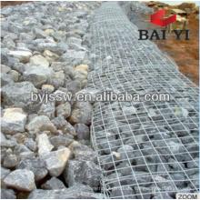 Direct factory hot dipped galvanized gabion box / welded gabion / gabion baskets