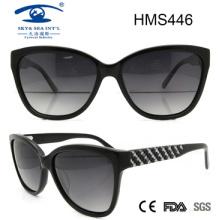 2016 Gafas de sol de venta caliente del acetato (HMS446)
