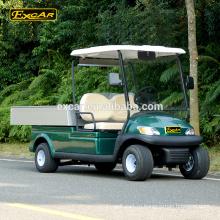 Изготовленный на заказ 2 местный электрический автомобиль электрический гольф-кары отель коммунальных багги автомобиля уборка автомобиля