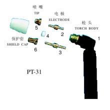 Schweißprojekte (Luftplasmateile PT31)
