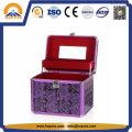 Estojo de beleza roxo para armazenamento de cosméticos (HB-2043)