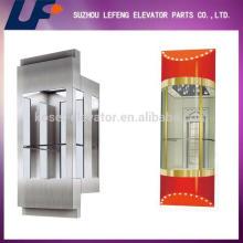 Glass Panoramic/Sightseeing/Observation Elavator/complete elevator
