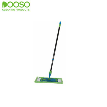 Telescopic Iron Pole Microfiber Flat Mop DS-1235