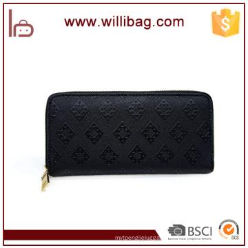 New Fashion Women Leather Wallet Ladies Elegant Clutch Purse