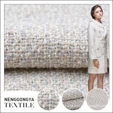 China custom High quality 100% polyester garment checked fabric